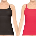 The Spanx Top This Cami, one of the shaping tanks at the center of a lawsuit with Yummie Tummie