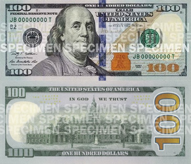 Coming to a Bank Near You: The New $100 Bill