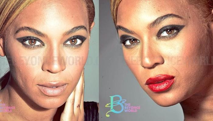 Unretouched Photos Show That Beyoncé Has Pores